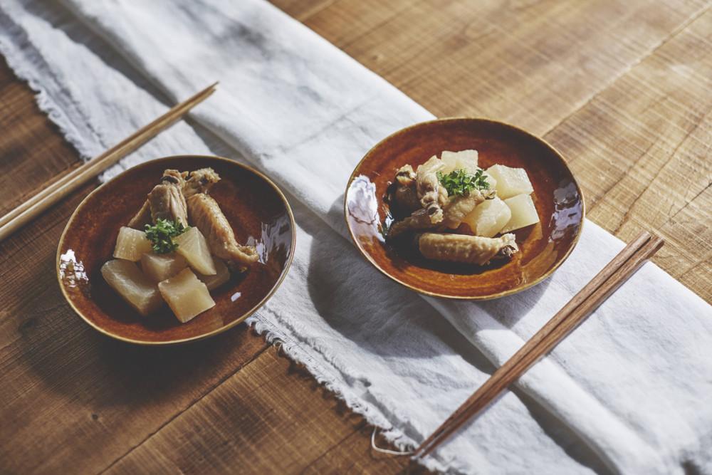 大根と中手羽の煮物